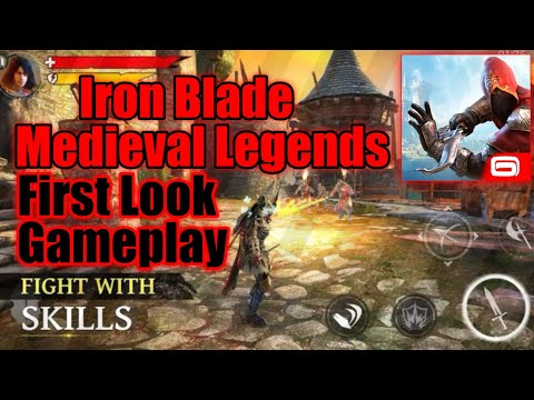 Iron Blade:Medieval Legends : #2⚔️First Look And Gameplay Of Iron Blade⚔️