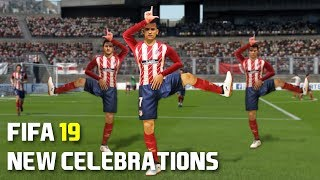 FIFA 19 ALL NEW CELEBRATIONS TUTORIAL | PS4 and Xbox