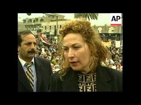 IRAQ: BAGHDAD: ANTI US-BRITISH PROTESTS