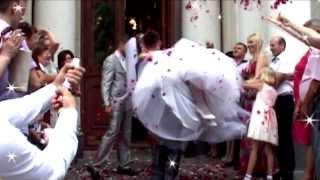 Романтичная свадьба, клип