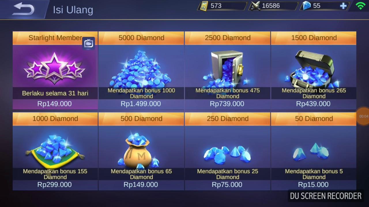 Cara Beli Diamond Di Mobile Legends Dengan Telkomsel Youtube