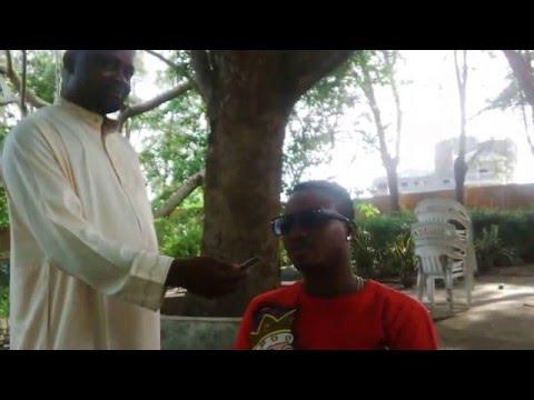 Dre San's Interview With Radio Weke, Port Novo, Benin Repulic (Cotonou Campus Music Festival 2016)