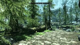 The Elder Scrolls V: Skyrim ゲームプレイデモ Part 1 [HD]