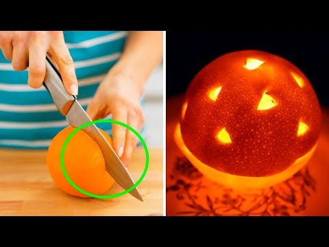 How To Turn An Orange Into A Candle (DIY Natural Scented Candle)
