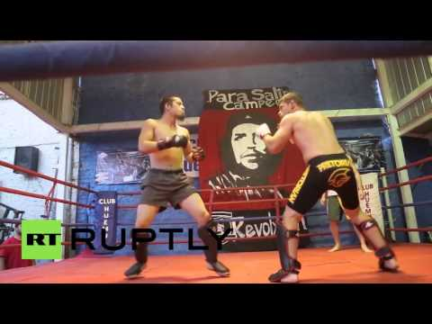 Chile: Antifa mixed martial artists land a blow to racism and fascism