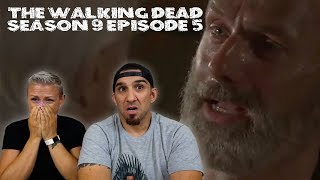 The Walking Dead Season 9 Episode 5 'What Comes After' REACTION!! (Rick Grimes' Final Episode)