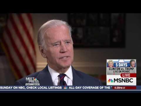 VP Biden Promises Response to Russian Hacking   14 10 2016