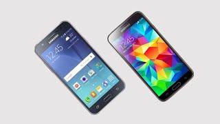 Samsung Galaxy J7vs Galaxy S5 4G Comparison -- Which is Better?