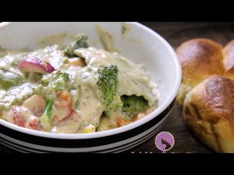 Ravioli Pasta | Easy dinner Recipe | Instant 10 minutes Pasta| Ravioli Pasta | Garlic Alfredo