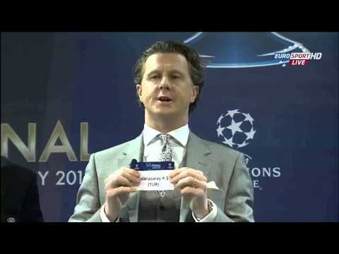UEFA Champions League - Draw of the Quarter Finals 2013 [HD 1080p]