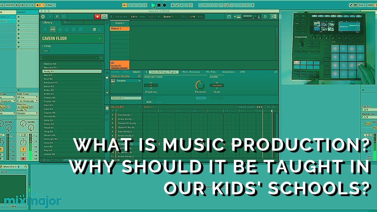 What is Music Production? Why should it be taught in our kids' schools?