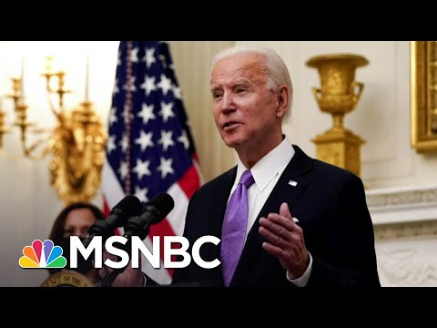 Biden Reveals Covid Plan One Year After Virus Was Found In U.S.   The 11th Hour   MSNBC