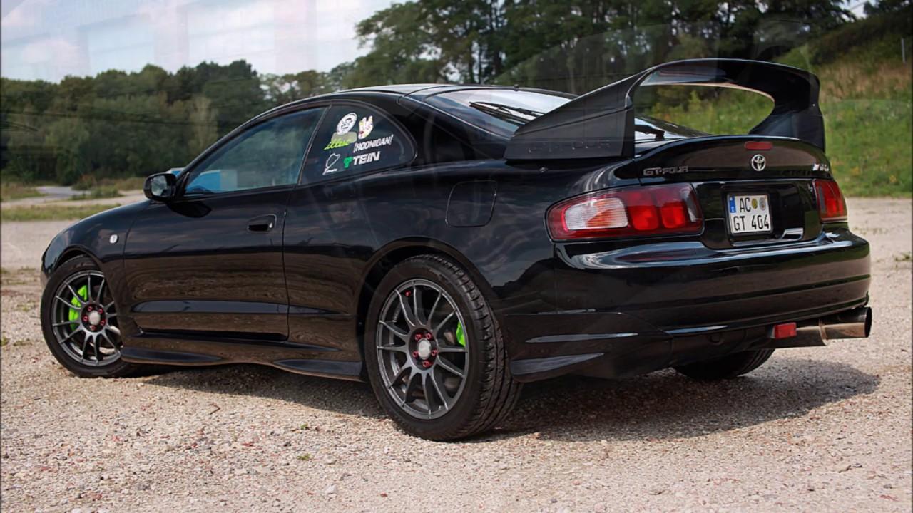 Part II  1994 Toyota Celica GT4 GTFOUR ST205 JSpec  Blitz Nr