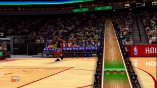 NBA 2K13 Slam Dunk Contest Gameplay