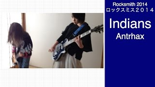 Here is Audrey (13) and Kate (8) playing Rocksmith - Indians - Anth...