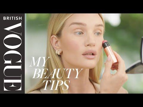 Rosie Huntington-Whiteley Reveals Her 15-Minute Morning Make-Up Routine | British Vogue