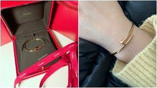 Cartier Small Juste Un Clou Bracelet Unboxing & Review (3 month Wear & Tear) YouTube Videos
