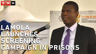Justice Minister Ronald Lamola visited Johannesburg Prison on 8 April 2020 to launch a coronavirus screening campaign in prisons. This is to ensure that inmates and officials adhere to the directions issued to prevent and combat the spread of the coronavirus within correctional services facilities.
