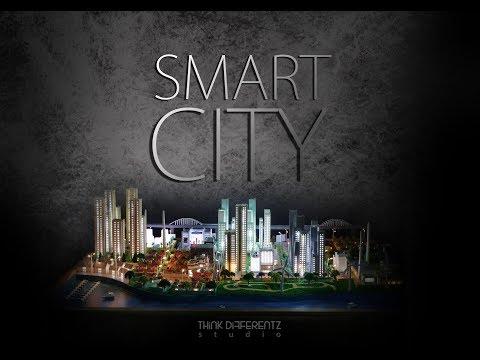 Miniature model of smart city