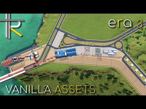 Cities: Skylines - Pier & Cargo Facility - Era 3 |