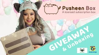 PUSHEEN BOX GIVEAWAY in Partnership with CultureFly