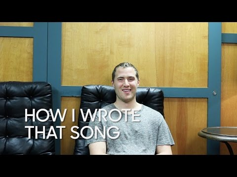 """How I Wrote That Song: Mike Posner """"Boyfriend"""""""