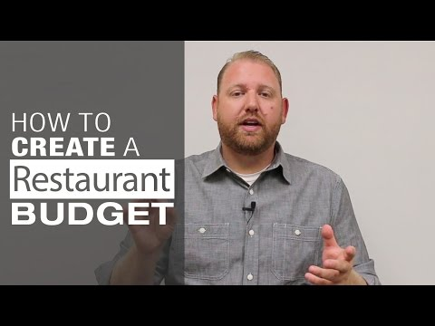 How to Create a Restaurant Budget