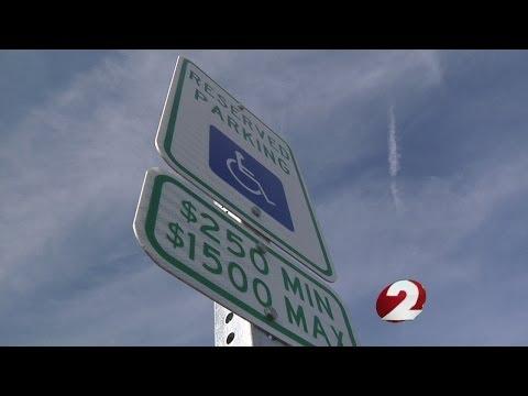 Handicap parking law loophole