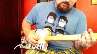 pops staples tones reverb and tremolo how to play cigar box guitar shane s hot licks 5