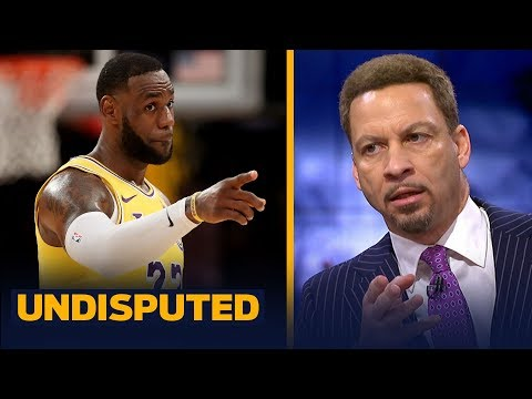Chris Broussard: Cause of Lakers' season is injuries & the AD saga — not LeBron | NBA | UNDISPUTED