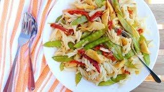 Artichoke & Sun Dried Tomato Pasta Recipe - Getfitwithleyla