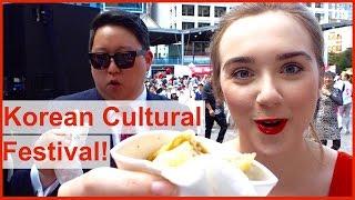 Aussie girl hosts Korean Festival?!
