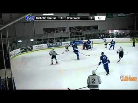 Cranbrook's #10 Christopher Brown scores goal
