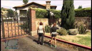 GTA 5 Swing set glitch/Schaukel glitch and fails!! and with funny escape
