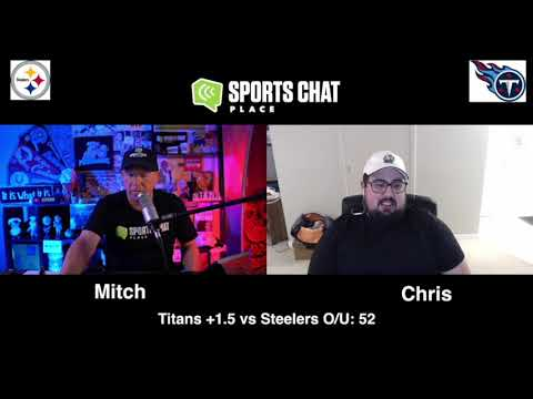 Video: Pittsburgh Steelers at Tennessee Titans Sunday 10/25/20 NFL Picks & Predictions Week 7