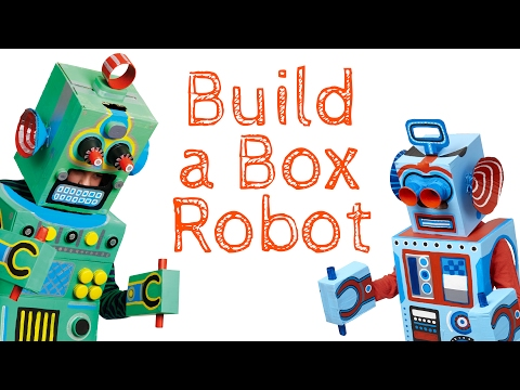 Build Your Own Recycled Cardboard Robot Costume UK