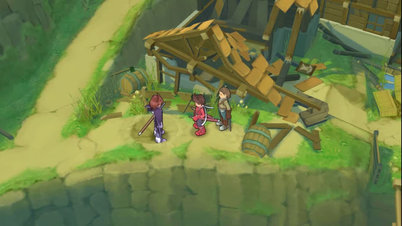 Tales Of Symphonia Kratos Training Sidequest Youtube