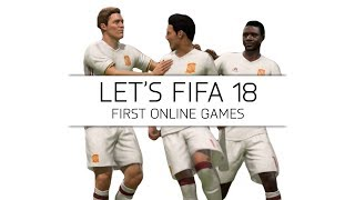 Let's FIFA 18 - First Online Games - #2