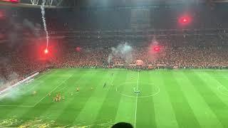 Galatasaray Başakşehir - Bitiş anı ve Yaz Dostum - Barış Manço