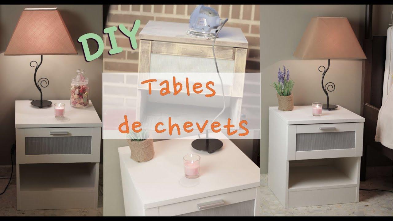 Relooker Des Tables De Chevets