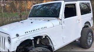 Rebuilding A Wrecked Car JEEP RUBICON (Part 11)