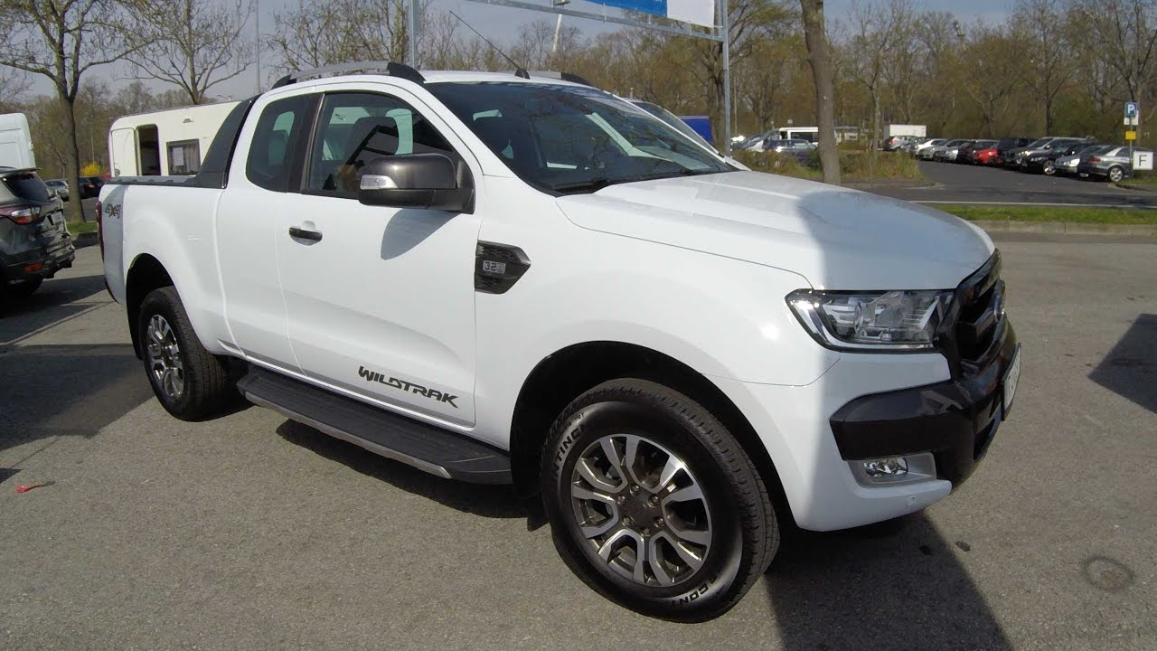 Ford Ranger Wildtrak White 2017 >> FORD RANGER EXTRA/SINGLE CAB WILDTRAK 4X4 !! ARCTIC WHITE !! WALKAROUND + INTERIOR !! - YouTube