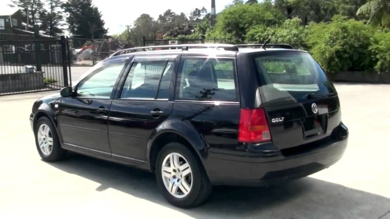Volkswagen Golf Wagon 2003 Black 100km 2l Auto Youtube