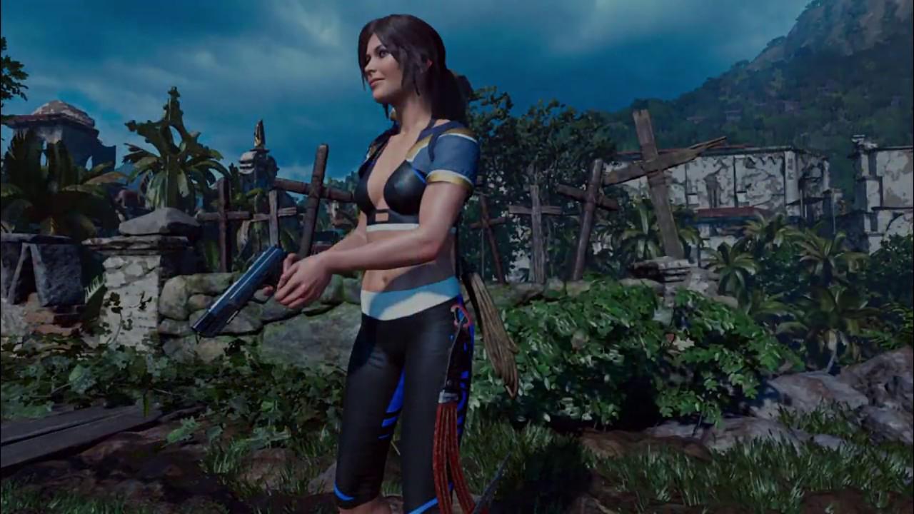 Shadow of the Tomb Raider | Mods: White Bikini - The