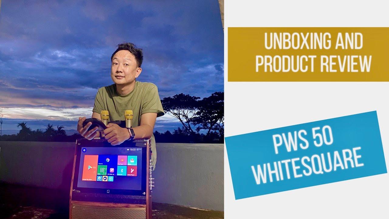 Unboxing | PWS50 | Whitesquare | Karaoke machine