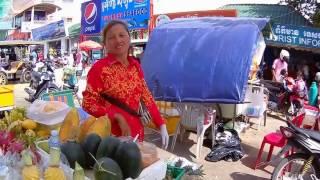 Камбоджа провинция Сиануквиль поход по магазинам