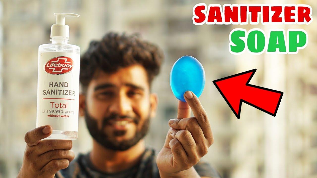 SANITIZER SOAP | सैनिटाइजर की साबुन