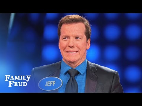 Jeff Dunham thinks Steve has the answer! | Celebrity Family Feud