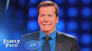 Jeff Dunham thinks Steve has the answer!   Celebrity Family Feud