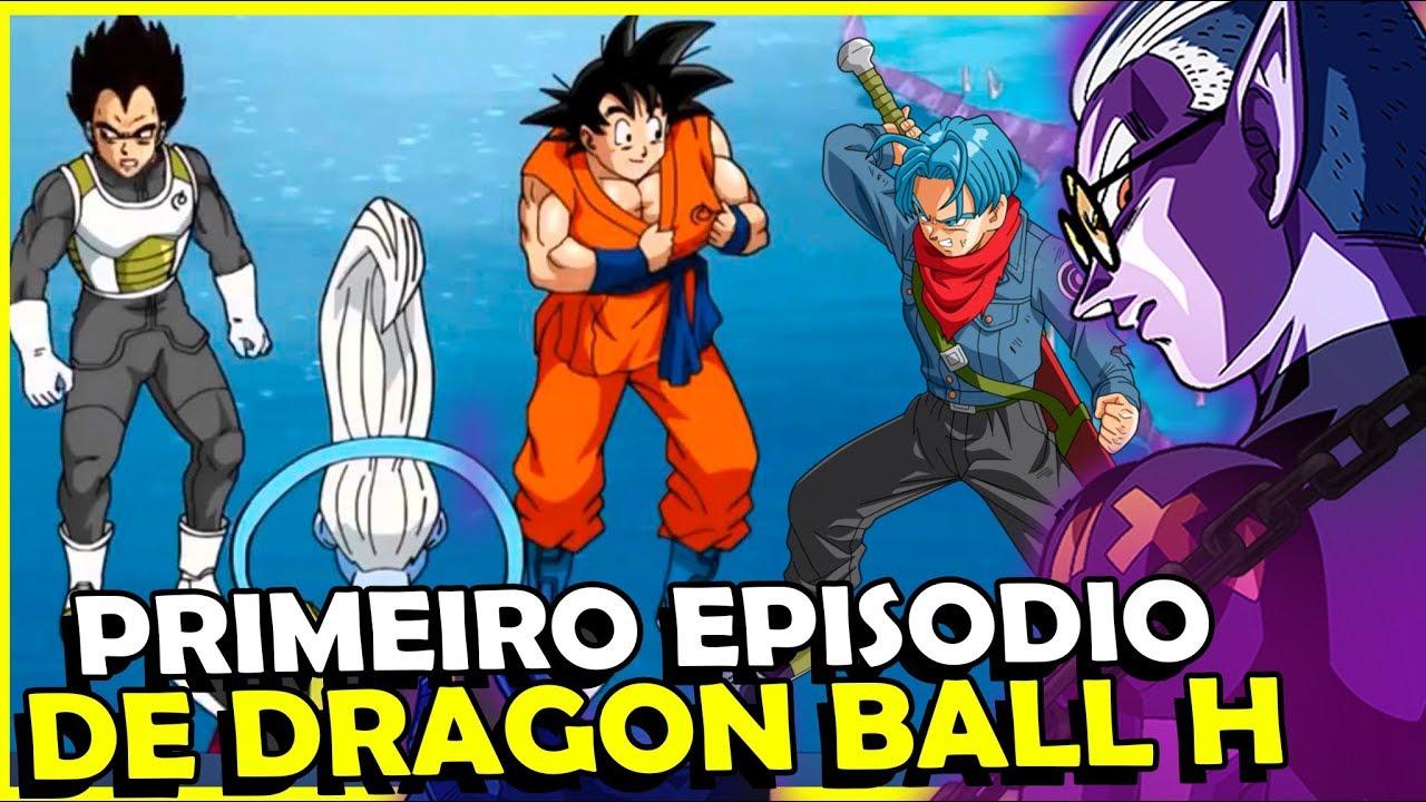 O QUE ESPERAR DO PRIMEIRO EPISODIO  DE DRAGON BALL HEROES?